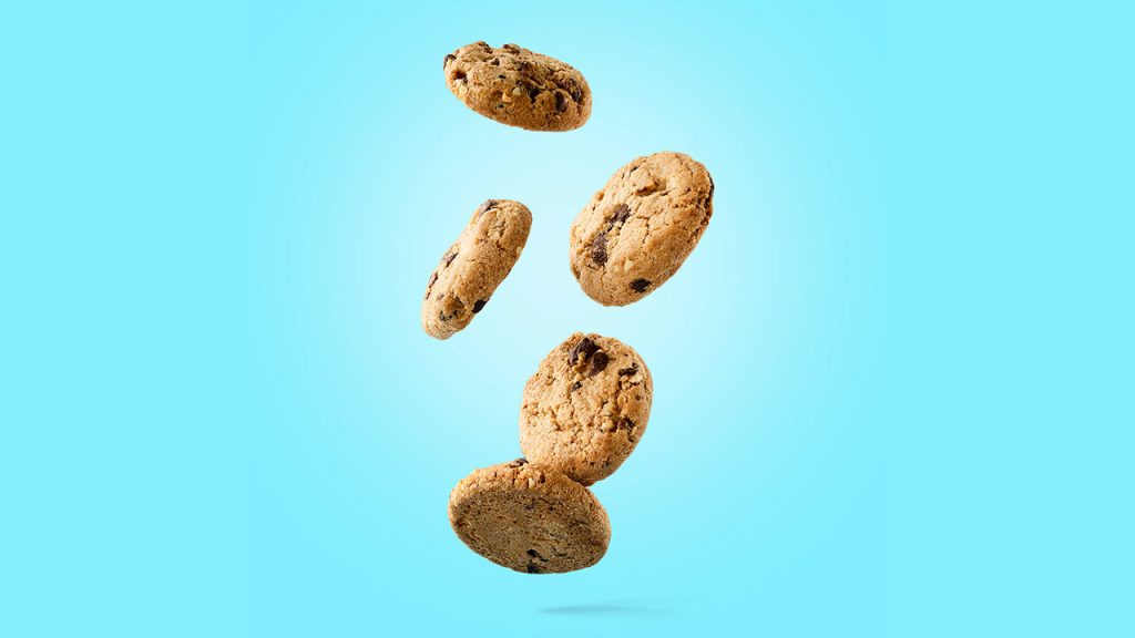 Foto Zwevende koekjes