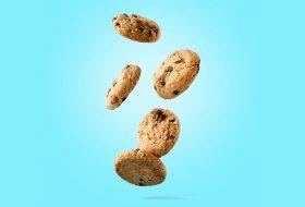 Zwevende koekjes